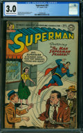 Golden Age (1938-1955):Superhero, Superman #93 (DC, 1954) CGC GD/VG 3.0 CREAM TO OFF-WHITE pages.