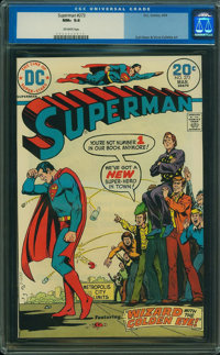 Superman #273 (DC, 1974) CGC NM+ 9.6 Off-white pages
