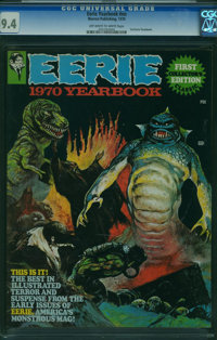 Eerie Yearbook #1970 (Warren, 1970) CGC NM 9.4