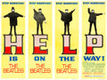 "Movie Posters:Rock and Roll, Help! (United Artists, 1965). Door Panel Set of 4 (20"" X 60"").. ... (Total: 4 Items)"