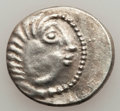Ancients:Celtic, Ancients: DANUBE REGION. Balkan Tribes. Imitating Alexander III theGreat (336-323 BC). Ca. 2nd-1st centuries BC. AR drachm (3.21gm). X...