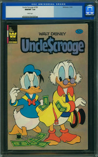 Uncle Scrooge #190 (Whitman, 1981) CGC NM/MT 9.8 White pages