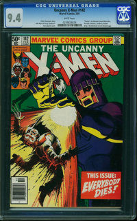 X-Men #142 (Marvel, 1981) CGC NM 9.4 WHITE pages