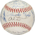 Baseball Collectibles:Balls, 1964 San Francisco Giants Team Signed Baseball from The JosephO'Toole Collection. ...