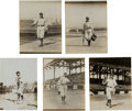 Baseball Collectibles:Photos, 1908-09 Fred Clarke & Vic Willis Original Photographs Lot of 5,PSA/DNA Type 1 from The Joseph O'Toole Collection. ...