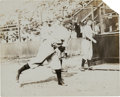 Baseball Collectibles:Photos, 1908-09 Honus Wagner Original Photograph by Charles Conlon, PSA/DNAType 1 from The Joseph O'Toole Collection. ...