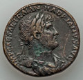 Ancients:Roman Imperial, Ancients: Hadrian (AD 117-138). AE sestertius (25.19gm).Choice VF, smoothing, deposits....