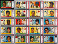 Baseball Cards:Sets, 1955 Topps Baseball Mid to High Grade Complete Set (206) With NearMint Koufax, Clemente, & Killebrew Rookies. ...