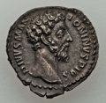 Ancients:Ancient Lots  , Ancients: ANCIENT LOTS. Roman Imperial. Ca. AD 128-180. Lot of two(2) AR denarii. About XF-AU.... (Total: 2 coins)