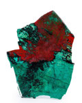 Lapidary Art:Carvings, Sonora Sunset Slab. Milpillas Mine. Sonora. Mexico. 5.69 x 4.30x 0.17 inches (14.46 x 10.91 x 0.44 cm). ...