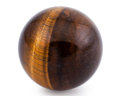 Lapidary Art:Eggs and Spheres, Tiger's-Eye Sphere. South Africa. 2.00 inches (5.08 cm) indiameter. ...