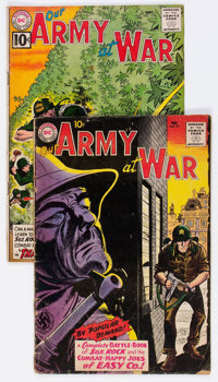 Our Army at War #91 and 110 Group (DC, 1960-61) Condition: Average GD.... (Total: 2 Comic Books)