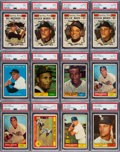 Baseball Cards:Lots, 1961 Topps Baseball High Grade Collection (780+) With 124 High Numbers....