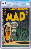 Golden Age (1938-1955):Humor, MAD #1 (EC, 1952) CGC FN+ 6.5 Cream to off-white pages....
