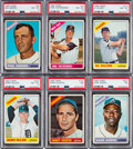 Baseball Cards:Sets, 1966 Topps Baseball Near Set (595/598)....