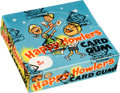 """Non-Sport Cards:Unopened Packs/Display Boxes, Rare 1970 Chix Confectionery """"Happy Howlers"""" Wax Box With 48Unopened packs. ..."""