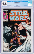 Modern Age (1980-Present):Science Fiction, Star Wars #78 (Marvel, 1983) CGC NM+ 9.6 White pages....