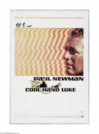 """Cool Hand Luke (Warner Brothers, 1967). One Sheet (27"""" X 41""""). Offered here is a vintage, theater-used poster..."""