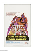"""Movie Posters:Western, Hang 'Em High (United Artists, 1968). Window Card (14"""" X 22""""). Offered here is a vintage, theater-used poster for this Weste..."""