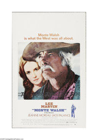 """Monte Walsh (National General, 1970). Window Card (14"""" X 22""""). Offered here is a vintage, theater-used poster..."""