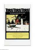 """Movie Posters:War, Tora, Tora, Tora (20th Century Fox, 1970). Window Card (14"""" X 22"""").Offered here is a vintage, theater-used poster for this ..."""