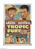 """Movie Posters:Adventure, Tropic Fury (Universal, 1939). One Sheet (27"""" X 41""""). This is avintage, theater used poster for this south seas adventure t..."""
