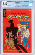 Bronze Age (1970-1979):Cartoon Character, Scooby Doo #1 (Gold Key, 1970) CGC VF+ 8.5 Off-white to white pages....