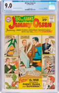 Silver Age (1956-1969):Superhero, 80 Page Giant #2 Jimmy Olsen (DC, 1964) CGC VF/NM 9.0 Cream to off-white pages....