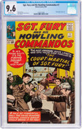 Silver Age (1956-1969):War, Sgt. Fury and His Howling Commandos #7 (Marvel, 1964) CGC NM+ 9.6 Off-white pages....