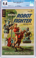 Silver Age (1956-1969):Science Fiction, Magnus Robot Fighter #2 (Gold Key, 1963) CGC NM 9.4 Off-whitepages....