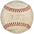 Autographs:Baseballs, 1954 Detroit Tigers Team Signed Baseball (27 Signatures).. ...