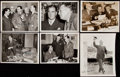Autographs:Photos, Happy Chandler Signed Photograph & Paper Lot of 9.. ...