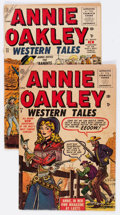 Golden Age (1938-1955):Romance, Annie Oakley #5 (#1) and 11 Group (Atlas, 1955-56) Condition:Average GD.... (Total: 2 Comic Books)