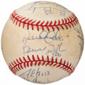 Autographs:Baseballs, 1996 New York Yankees - World Series Champions - Team SignedBaseball (19 Signatures).. ...