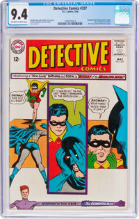 Detective Comics #327 (DC, 1964) CGC NM 9.4 Off-white to white pages