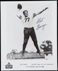 Football Collectibles:Uniforms, Red Grange Signed Hall of Fame Photograph.. ...