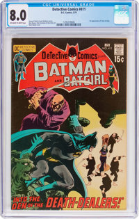 Detective Comics #411 (DC, 1971) CGC VF 8.0 Off-white to white pages