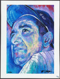 Autographs:Others, Yogi Berra Signed Limited Edition Print.. ...