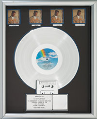 Bobby Brown Don't Be Cruel RIAA Multi-Platinum Album Sales Award (MCA MCA-42185, 1988)