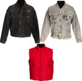 Music Memorabilia:Memorabilia, Lynyrd Skynyrd - Three Tour Jackets (Circa 1987).... (Total: 3 Items)