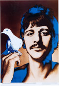Music Memorabilia:Posters, Beatles Full Set of Richard Avedon Psychedelic Posters From a LaterDutch Limited Edition.... (Total: 4 Items)