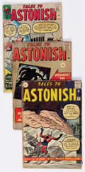 Silver Age (1956-1969):Horror, Tales to Astonish UK Editions Group of 4 (Marvel, 1961-63)....(Total: 4 Comic Books)