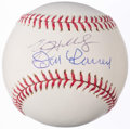 Autographs:Baseballs, Roy Halladay & Don Larsen - Playoff No-Hitters - Multi-SignedBaseball.. ...