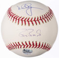 Autographs:Baseballs, Barry Bonds & Mark McGwire Multi-Signed Baseball.. ...