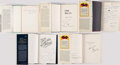 Autographs:Others, Signed Dodgers Book Lot of 5.. ...