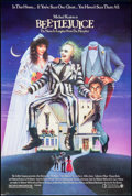 "Movie Posters:Comedy, Beetlejuice (Warner Brothers, 1988). One Sheet (27"" X 40.25"") SS.Carl Ramsey Artwork. Comedy.. ..."