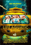 "Movie Posters:Comedy, The Life Aquatic with Steve Zissou (Buena Vista, 2004). One Sheet(27"" X 40"") DS Advance. Comedy.. ..."