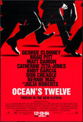 """Movie Posters:Crime, Ocean's Twelve (Warner Brothers, 2004). One Sheets (2) (27"""" X 40"""")DS Advance, 2 Styles. Crime.. ... (Total: 2 Items)"""