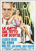 "Movie Posters:Drama, Cat on a Hot Tin Roof (MGM, R-1974). Italian 4 - Fogli (55"" X77.5"") Alverardo Ciriello Artwork. Drama.. ..."