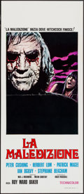 "Movie Posters:Horror, Asylum (CIC, R-1974). Italian Locandina (12"" X 27.5""). Horror.. ..."